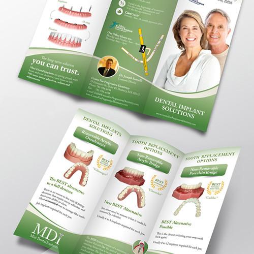 TriFold Dental Brochure