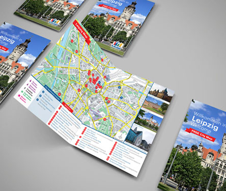 For rent apartments in Leipzig with map