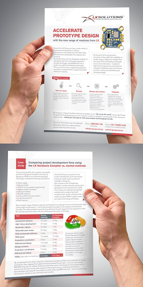 Brochure Design Electronically